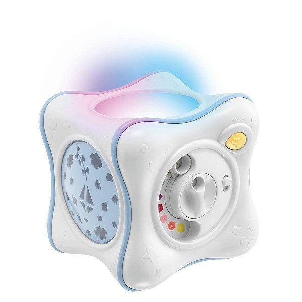 Projetor Chicco Rainbow Cube Azul