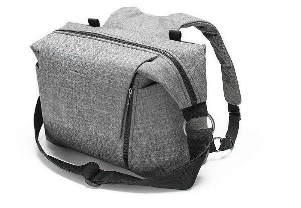 Bolsa Stokke Changing Bag Black Melange