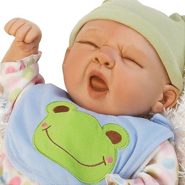 Boneca Sleepy Frog - Paradise Galleries