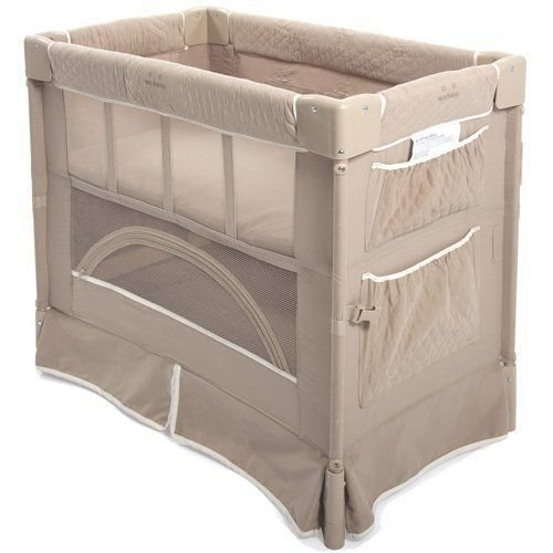 Mini Berço Co-Sleeper Toffee - Marrom