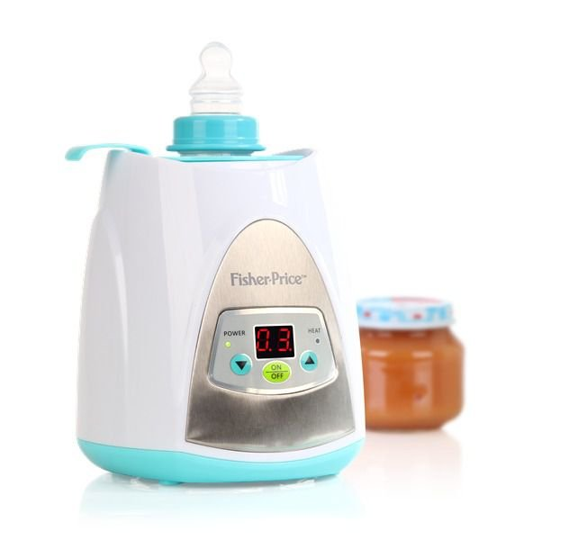 Aquecedor Digital de Mamadeiras e Alimentos Fisher Price - 110V