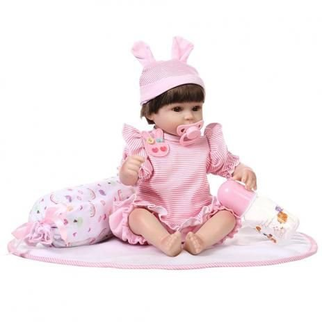 Boneca Laura Baby Nanda - Bebe Reborn