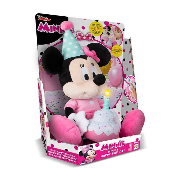 Pelúcia Minnie Happy Birthday