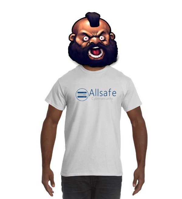 Camiseta Allsafe Cybersecurity