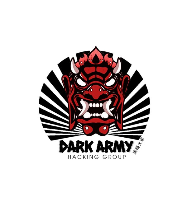 Adesivo Dark Army Hacking Group