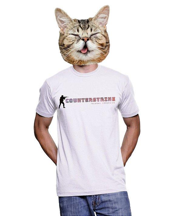 Camiseta Counter Strike - Stikers Gamer