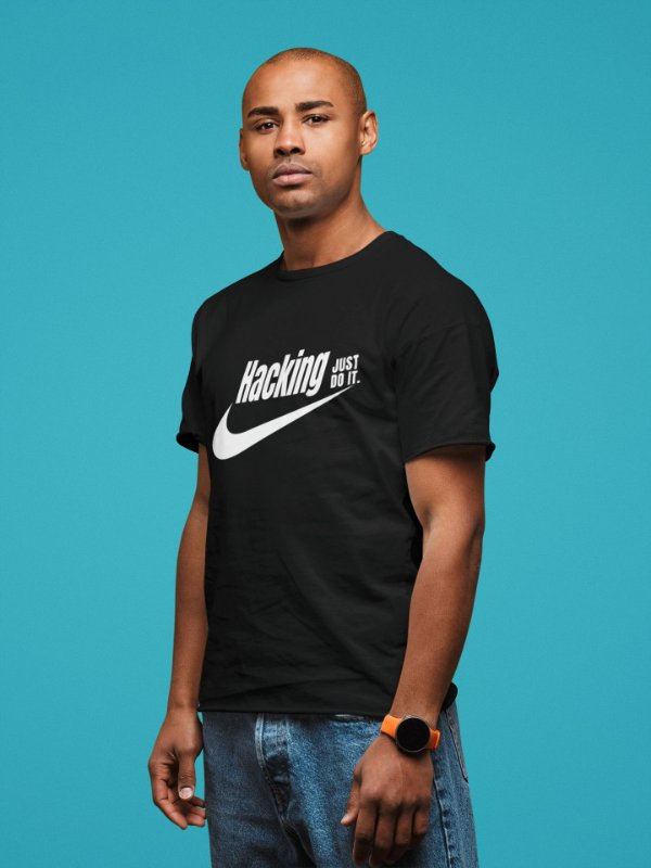 Camiseta Hacking Just Do It