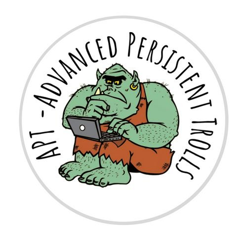 Adesivo Hacker APT - Advanced Persistent Trolls