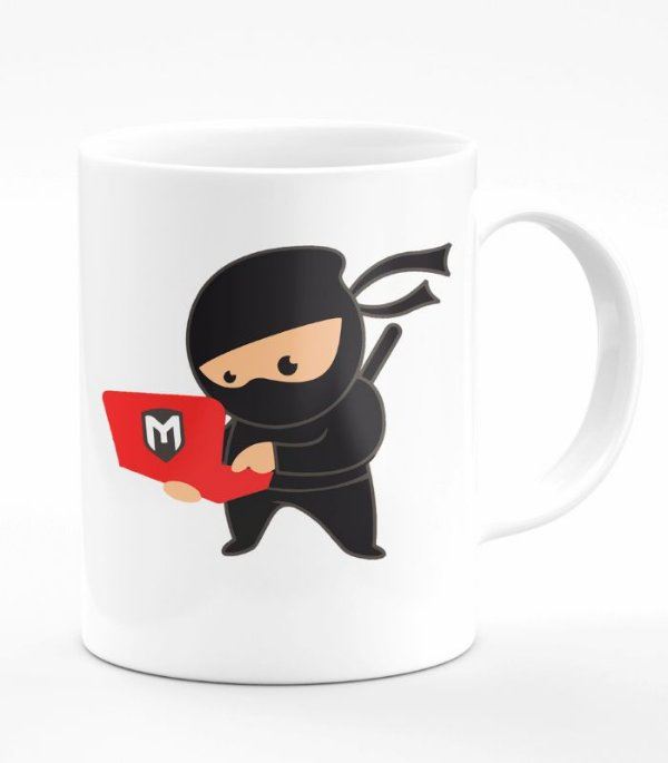 Caneca Programador Computer Programmer By day Ninja By Night