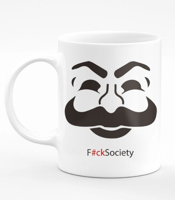 Caneca Mr Robot F Society
