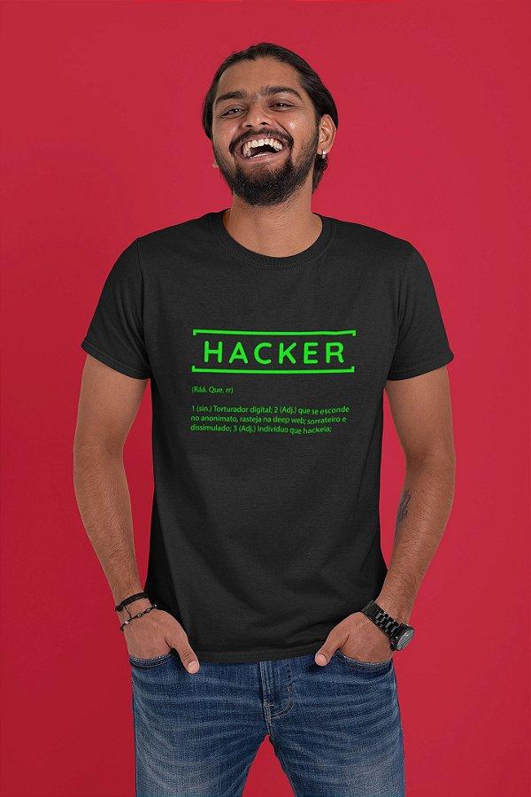 Camiseta Hacker Dicionário