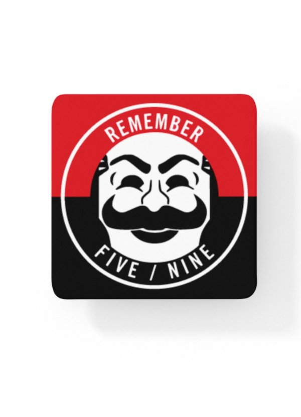 Porta-Copo Mr. Robot Remember Five/Nine