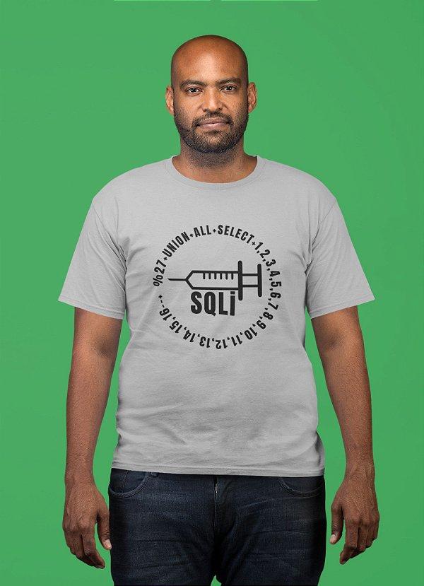 Camiseta Hacker SQL Injection - Alto Relevo