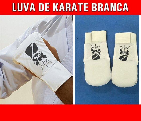 LUVA DE KARATE BRANCA
