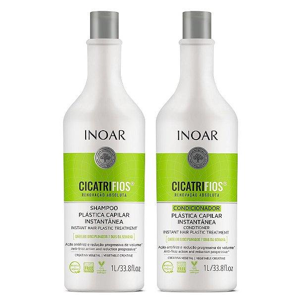 Inoar Cicatrifios KIT Shampoo e Condicionador 1Lt