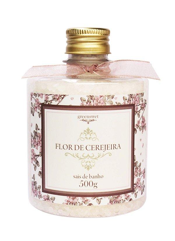 Sais de banho Greensweet Fragância Flor de Cerejeira 500g