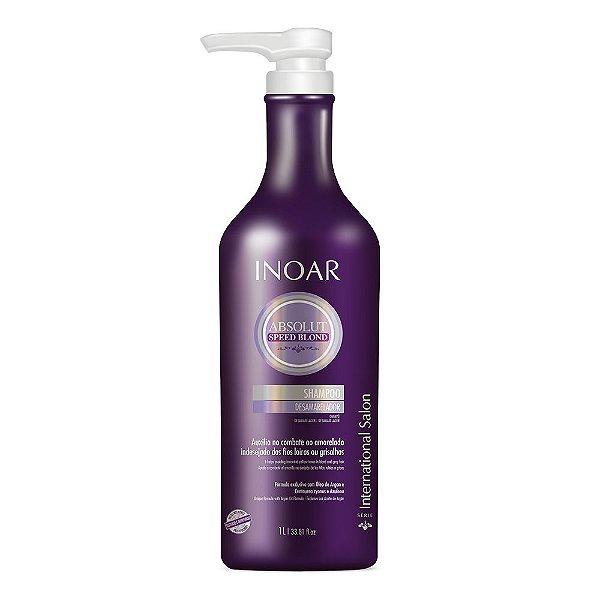 INOAR Speed Blond Shampoo 1Lt