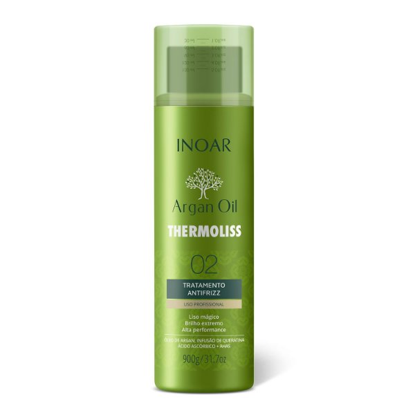 INOAR Thermoliss Argan Tratamento Anti Frizz 900Gr
