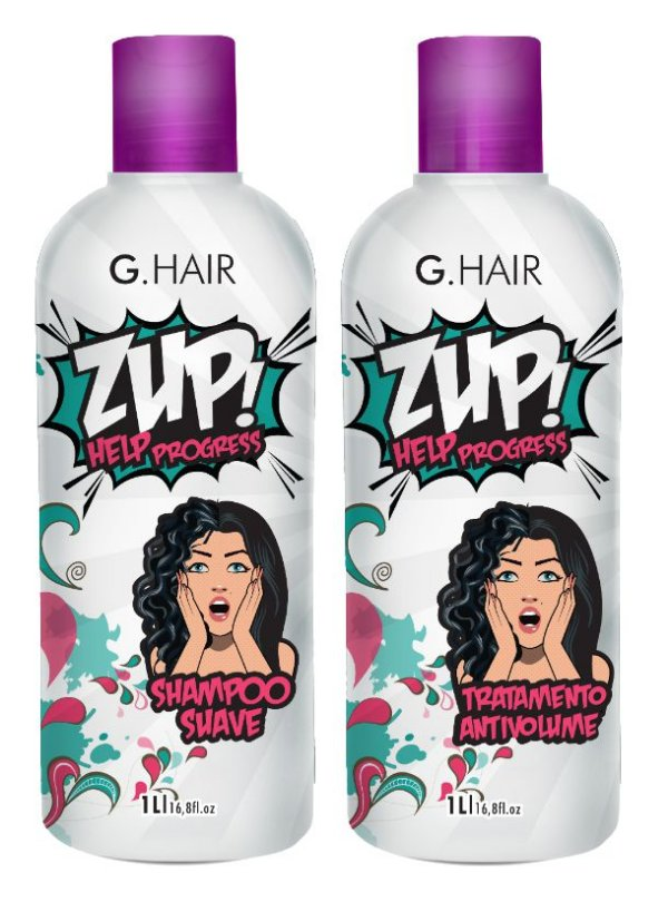 G. HAIR KIT Zup Help Progress 1Lt