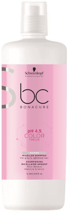 BC pH 4.5 Color Freeze Micellar Shampoo Silver SCHWARZKOPF 1000ml