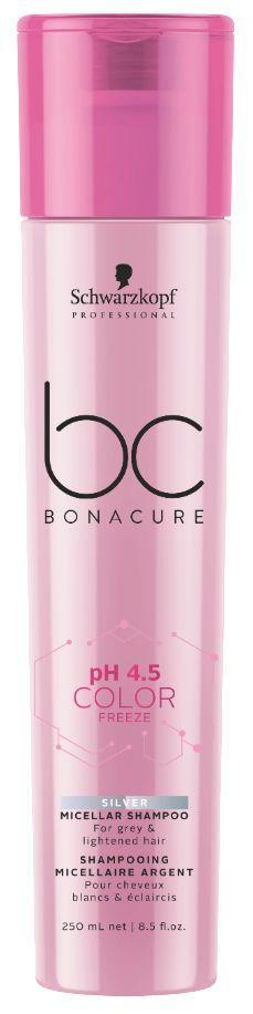 BC pH 4.5 Color Freeze Micellar Shampoo Silver SCHWARZKOPF 250ml