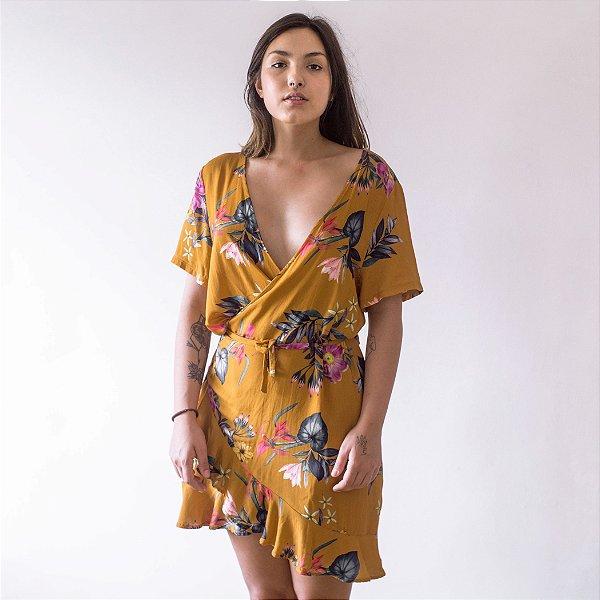 Vestido Envelope Floral