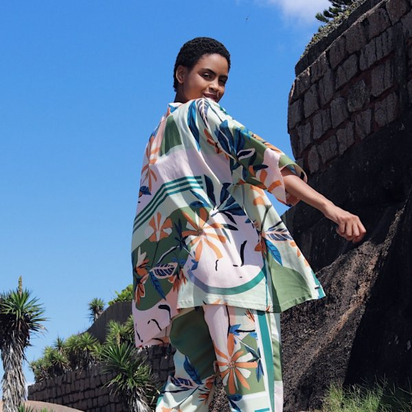 Kimono Marielle Botânica