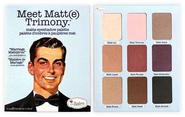 The Balm Paleta de Sombra - Meet Matt(e) Trimony