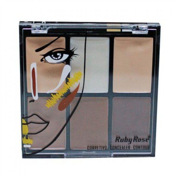 Ruby Rose Paleta de Corretivo