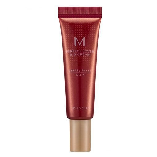 Missha M Perfect Cover BB Cream nº 21 (Bright Beige) - 10 ML