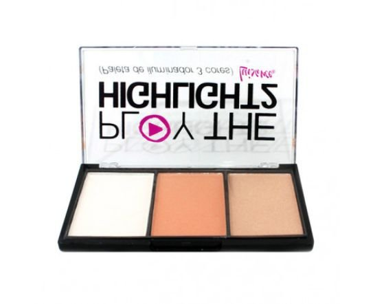 Luisance Paleta de Iluminador Play The Highlight