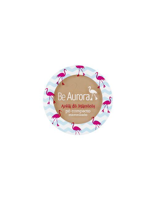 Be Aurora Pó Compacto Micronizado Areia do Marrocos - 04 Marrom Claro