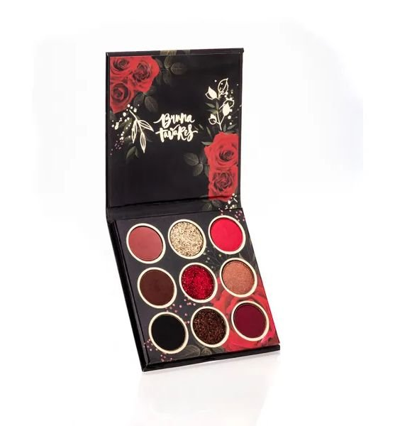 Bruna Tavares Paleta de Sombras Red Rose