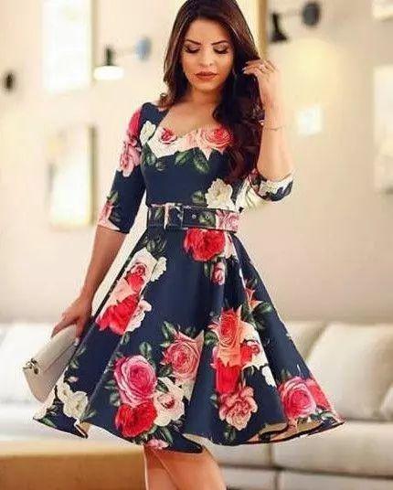 76cfd7ecdc Vestido Midi Paola Princesa - Moda Evangélica - Flor de Amêndoa
