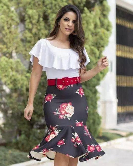 Conjunto Estefhanie Moda Evangélica