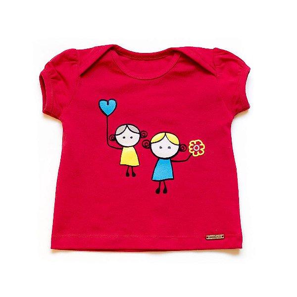 Blusa vermelha girls