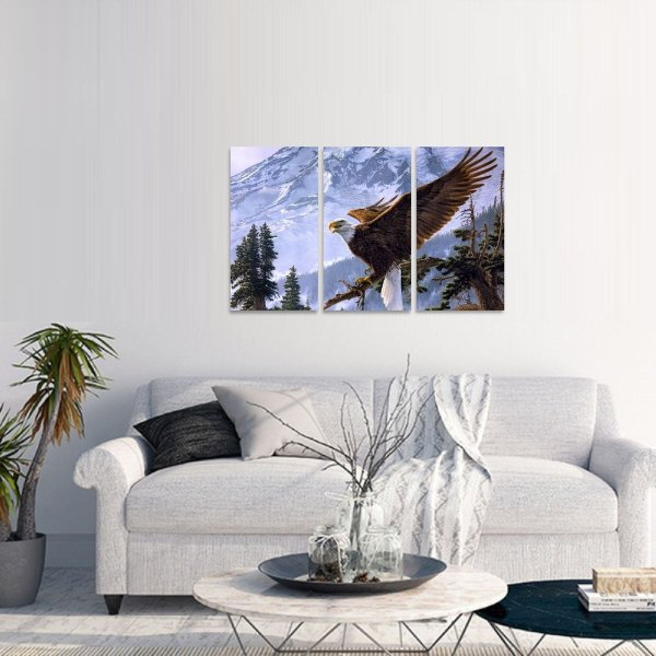 Quadro Águia Eagle Artístico Natureza Paisagem