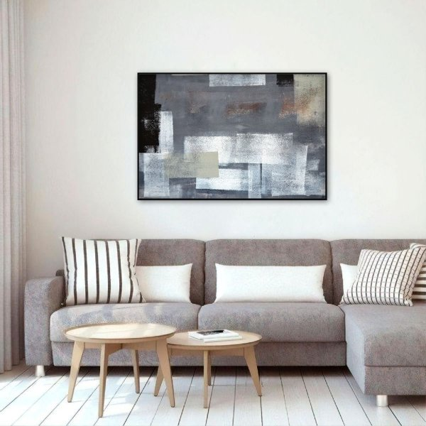 Quadro decorativo Arte Abstrata Moderno 1 Peça