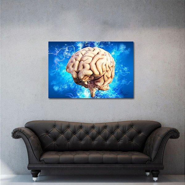 Quadro decorativo O Cérebro Energia Psicologia