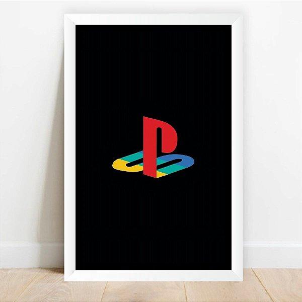 Quadro decorativo Playstation Video Games