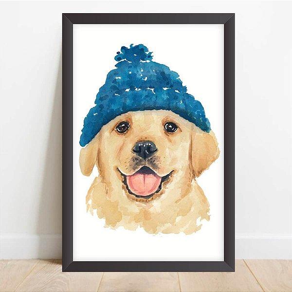 Quadro Coleção Pets Labrador Decorativo Artístico
