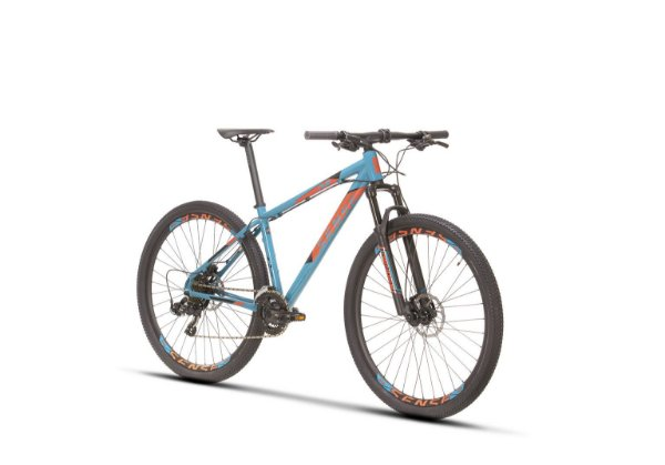 Bicicleta SENSE ONE Aro 29 Aqua/Laranja - Tam. 19