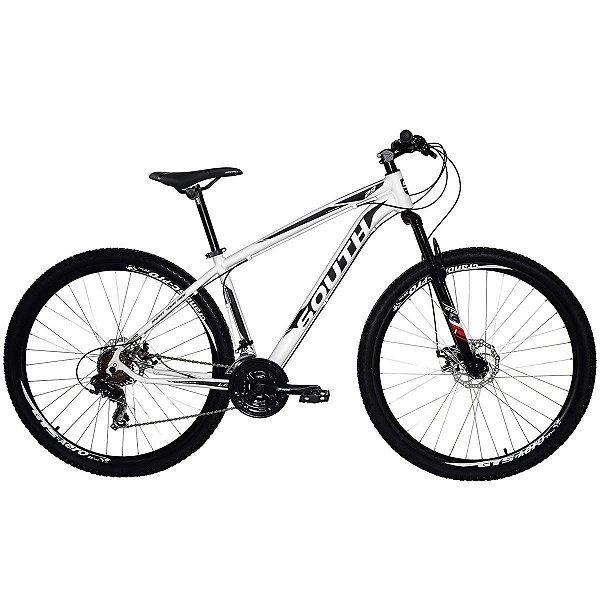 Bicicleta SOUTH Legend Aro 29 21V Branco - Tam. 17