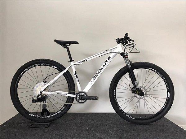 Bicicleta ABSOLUTE Aro 29 12V Branco/Preto - Tam.17