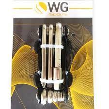 Chave Canivete WG Sports Allen 8 Funções Preto