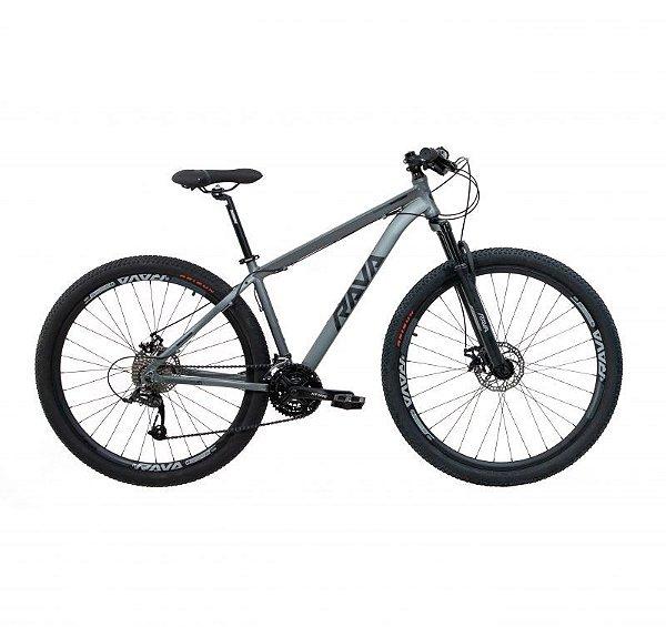 Bicicleta RAVA PRESSURE Aro 29 24V Cinza/Preto - Tam. 15.5