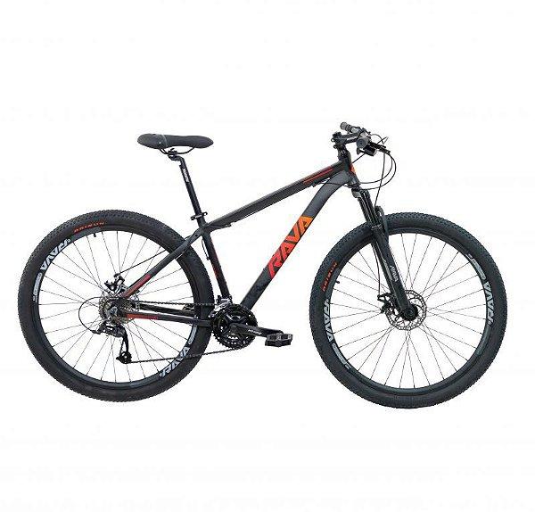 Bicicleta RAVA PRESSURE Aro 29 24V Preto/Vermelho - Tam. 15.5