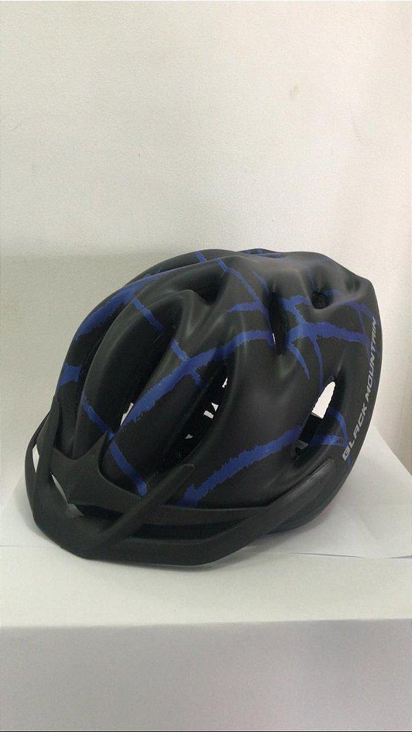 Capacete de Ciclismo WINNER BM Preto/Azul