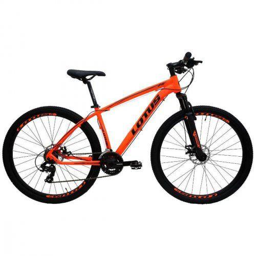 Bicicleta LOTUS Mec Aro 29 21V Laranja/Preto - Tam. 15,5