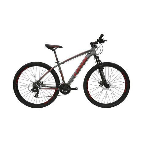 Bicicleta LOTUS Mec Aro 29 21V Cinza/Vermelho - Tam. 15,5